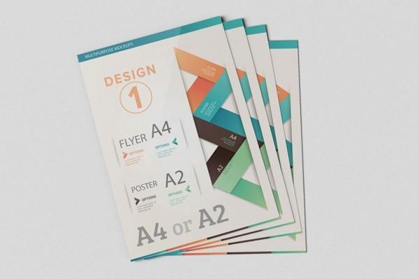 Flyer or Poster Mockup | Printing New York