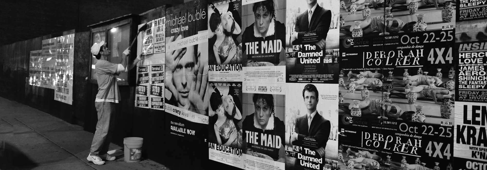 Wild Posting Posters   Printing New York