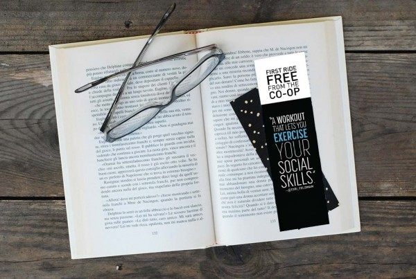 Glossy UV Coated Bookmarks from