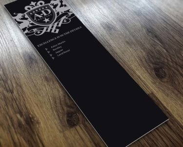 Spot UV Bookmarks | Printing New York