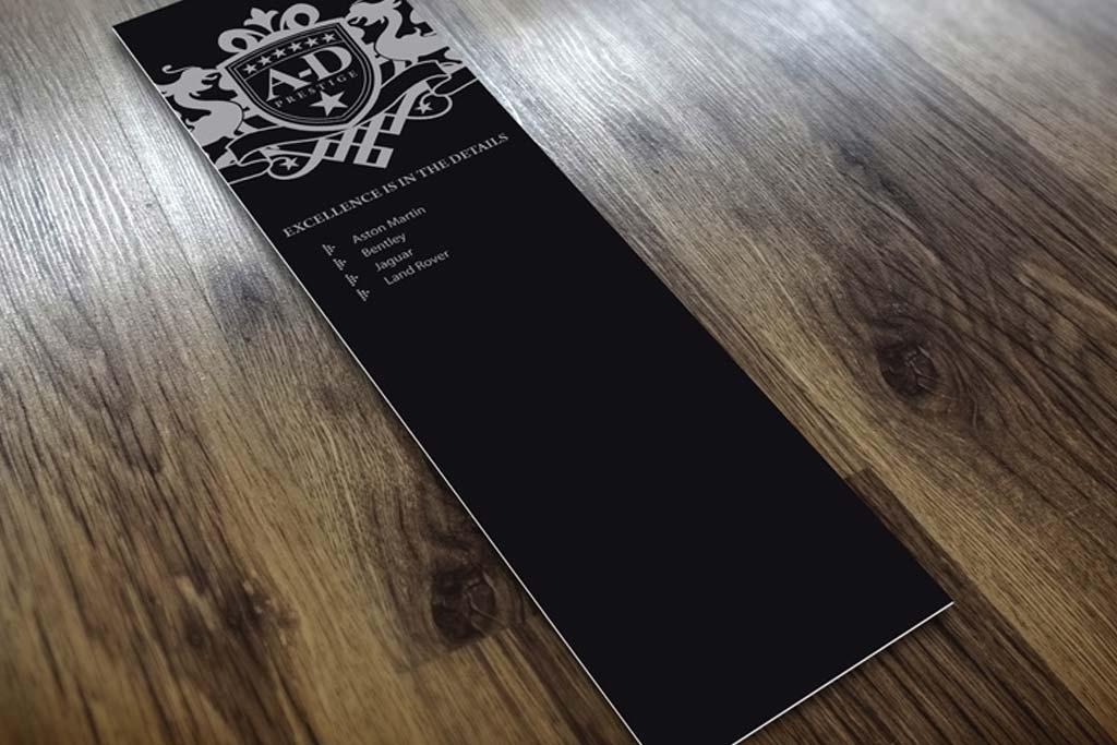 Glossy UV Coated Bookmarks