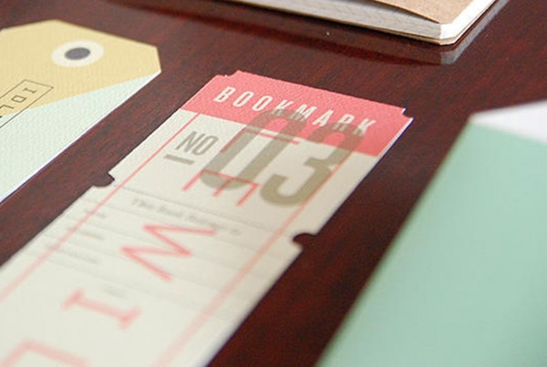 Uncoated Bookmarks from