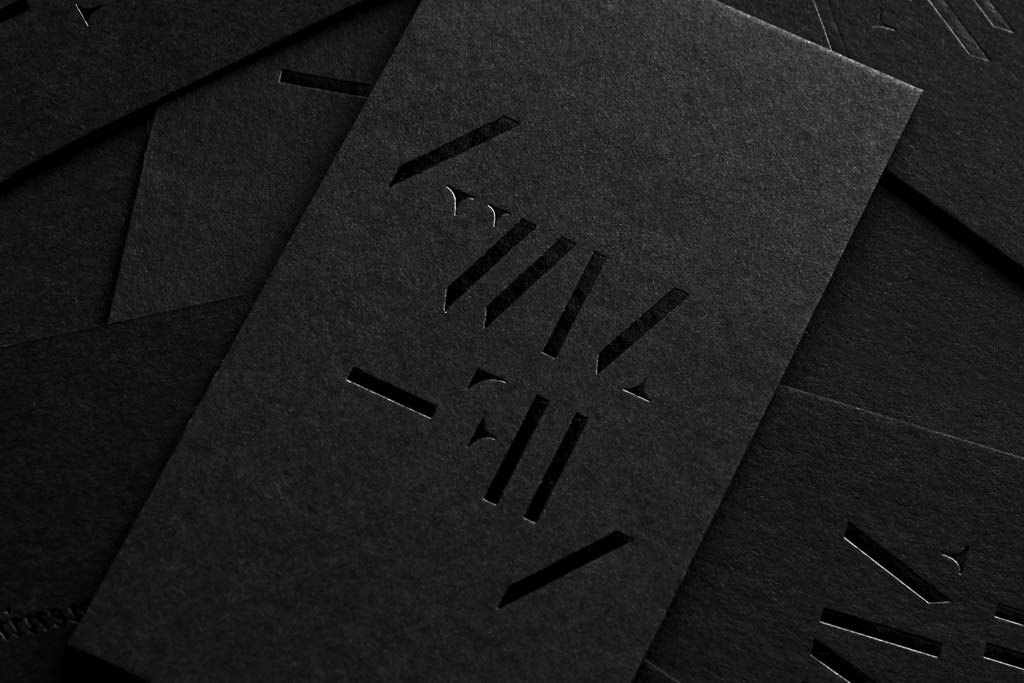 Matte Business Cards with spot UV | Printing New York | Rush Printing