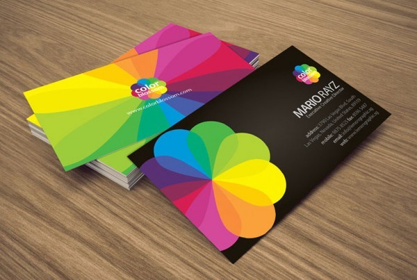 Glossy UV Coated Business Cards from