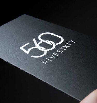 Business Cards Spot UV Foil | Printing New York