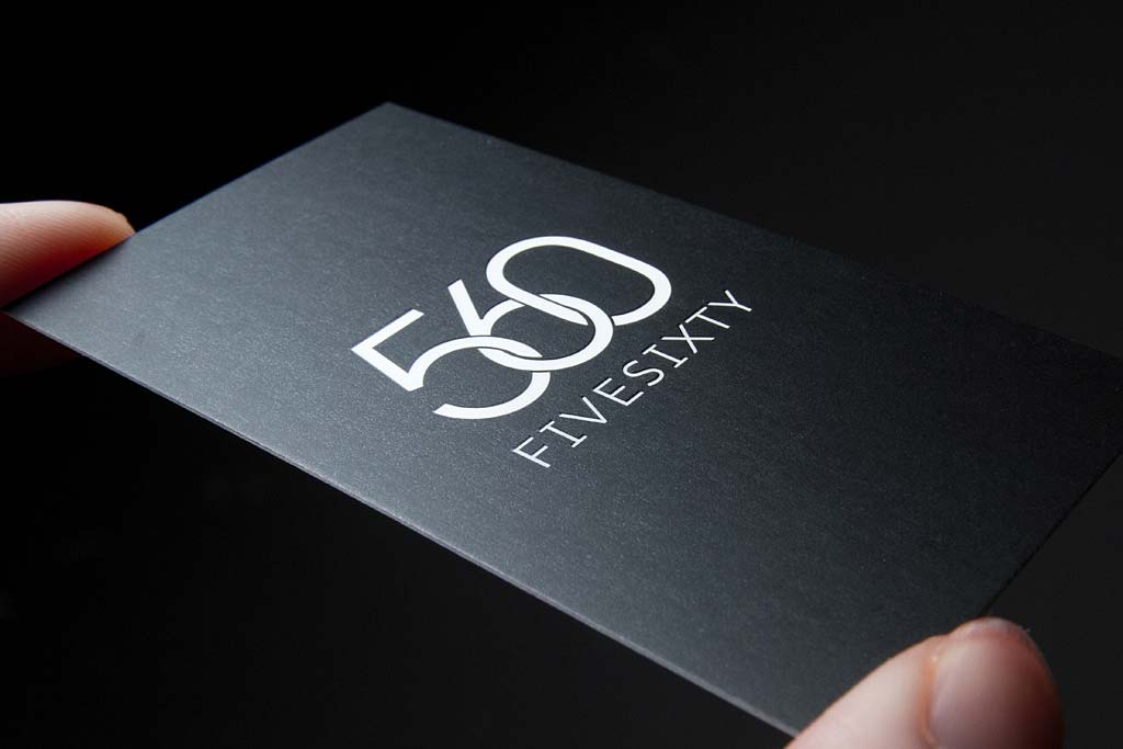 Silk Laminated Business Cards with Spot UV | Printing New York