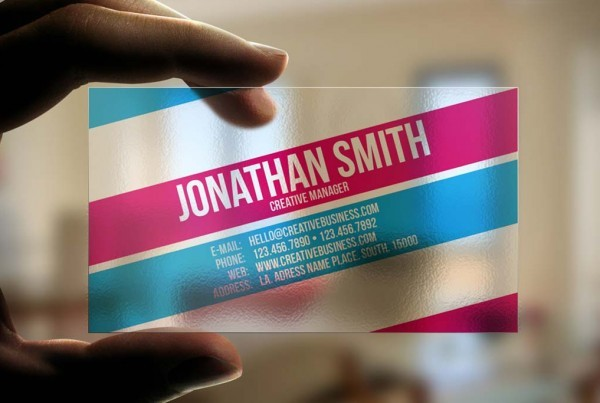 Transparent Plastic Cards | Printing New York