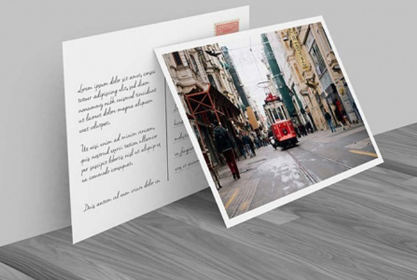 Matte Postcards With Spot UV from $62