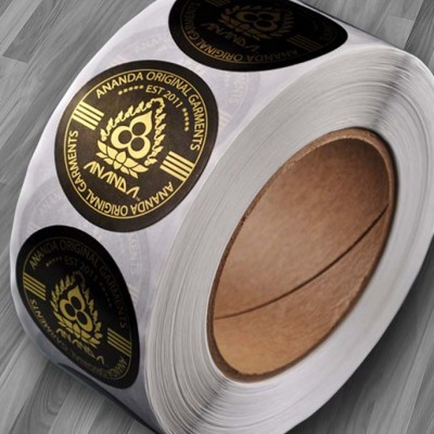 Clear Roll Labels