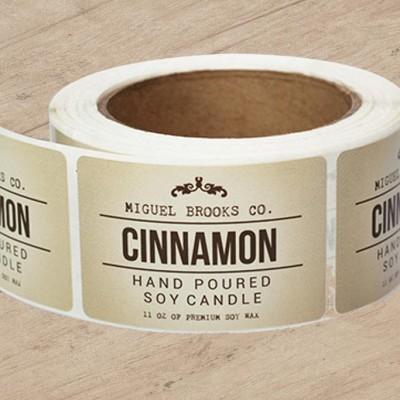 Semi-Gloss Roll Labels