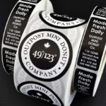 White Roll Labels | Printing New York