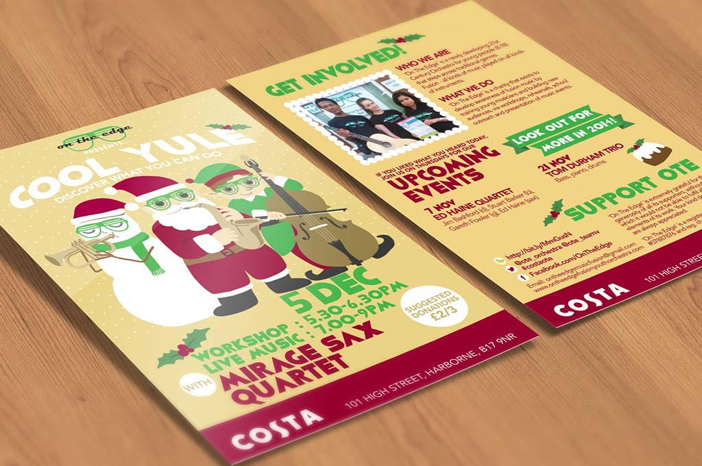 Christmas flyer design