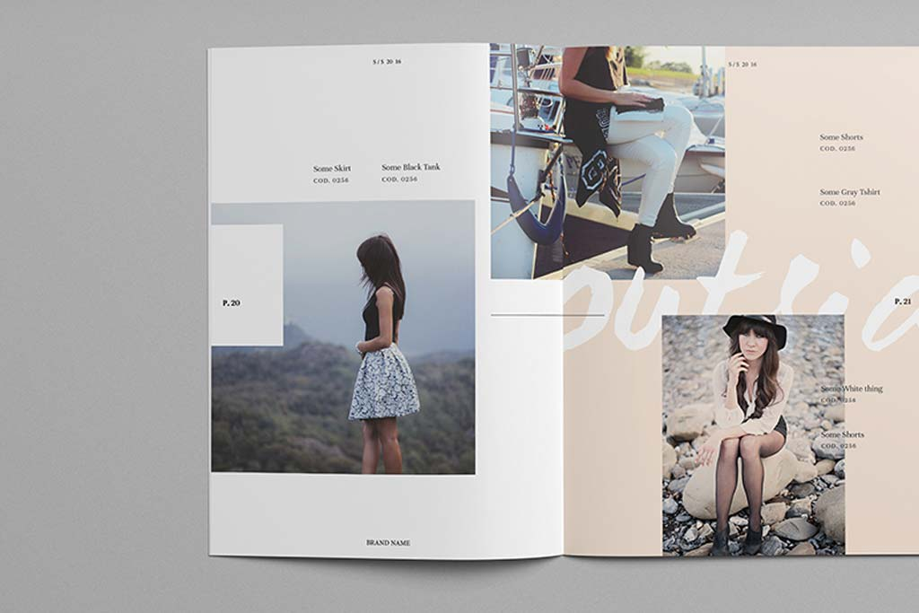 Fashion Lookbook Design