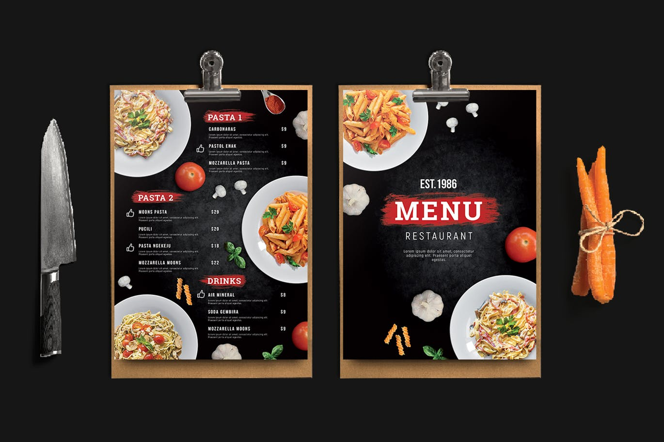 Menu Printing | Printing New York