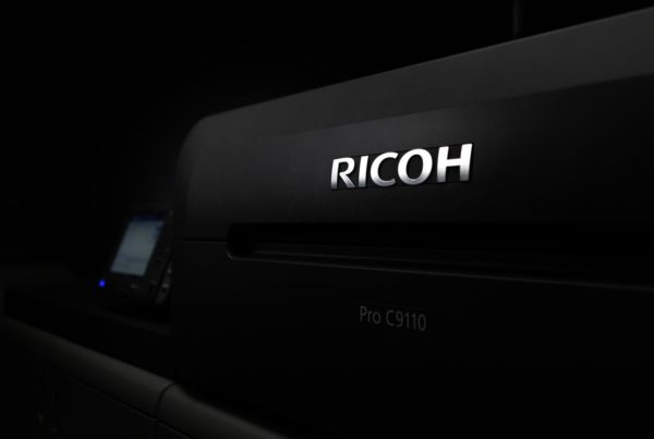 Meet our new RICOH Pro C9110 digital printing press!