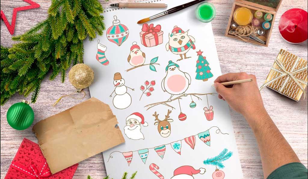Holidays season stickers | Printing New York