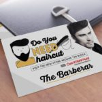 Barber Shop Postcard Inspiration | Printing New York