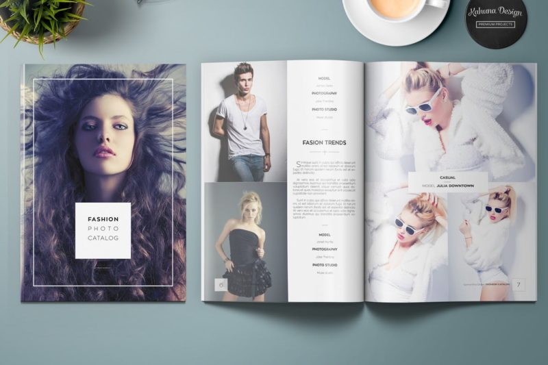 Fashion Lookbook Design | Printing New York