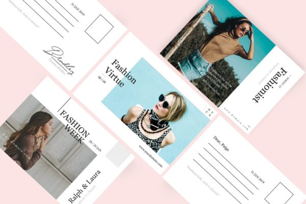 Fashion week postcard | Printing New York