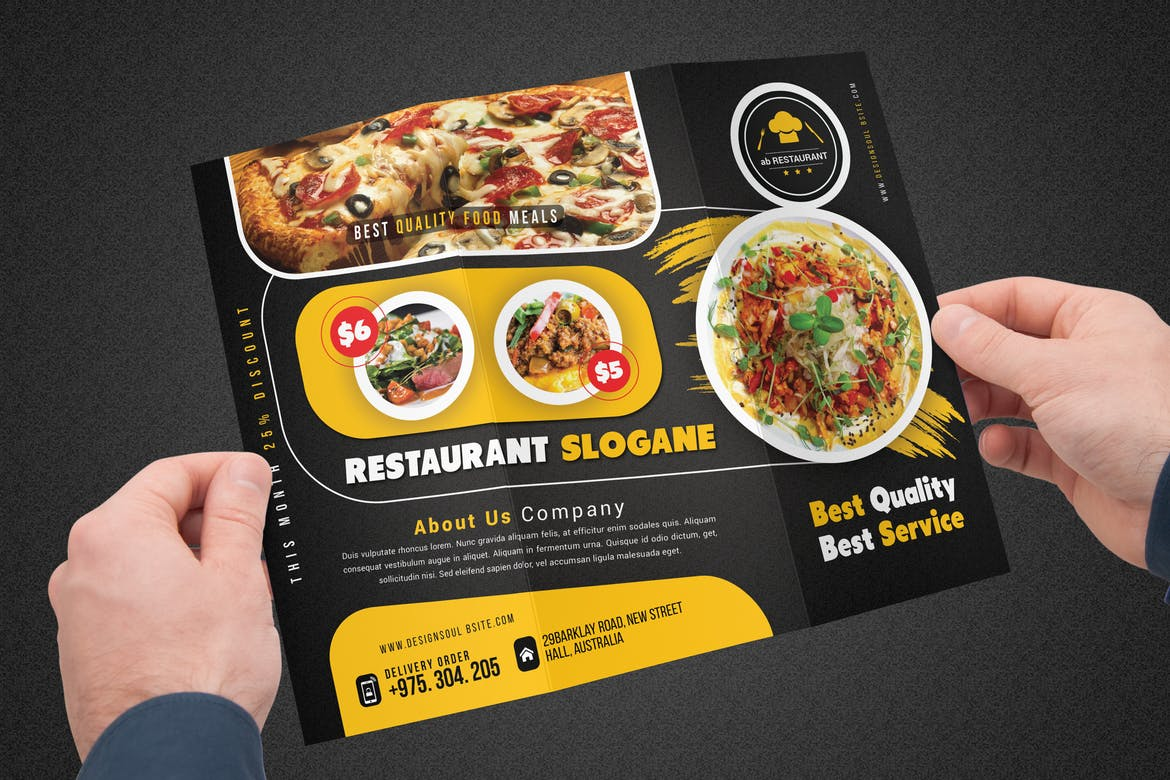 Restaurant Brochure | Printing New York