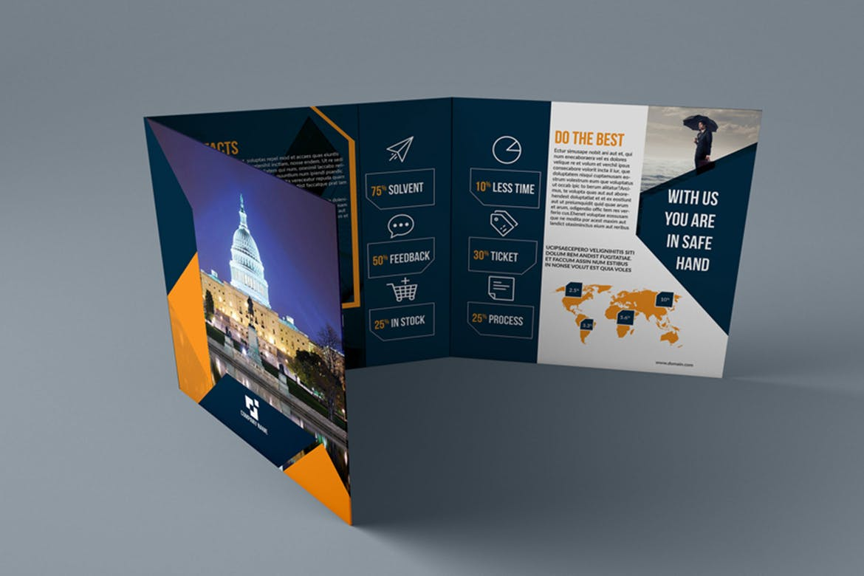 Trifold Brochure Mockup | Printing New York