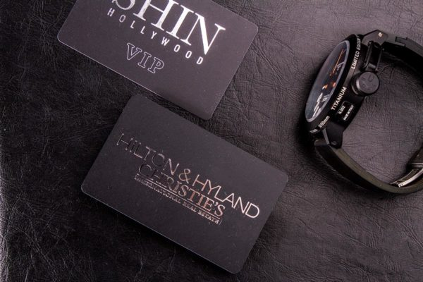 Plastic Business Cards | Hilton and Hyland | Printing New York