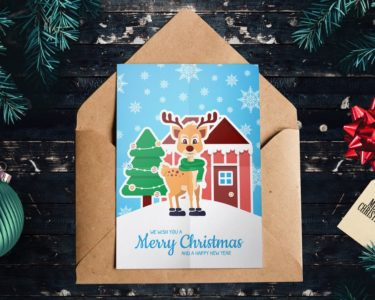 Christmas Greeting Card 6