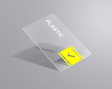 Clear Plastic Cards 1