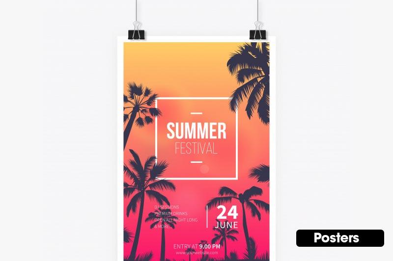 Miami Printing Posters