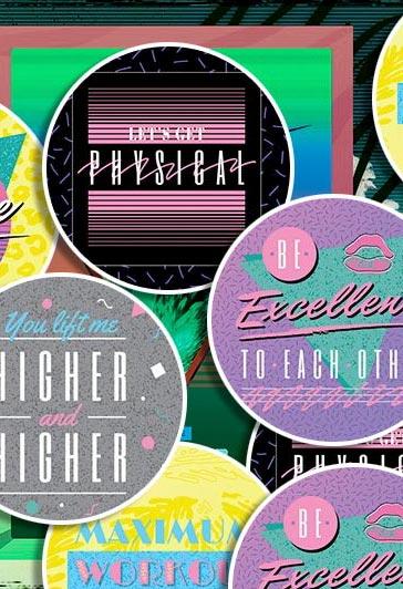 Miami Printing Stickers 1