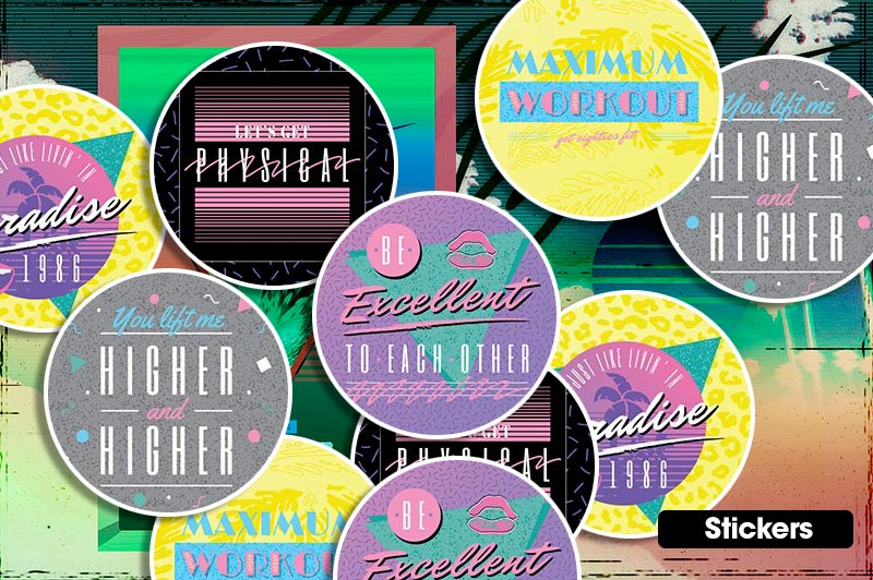 Miami Printing Stickers
