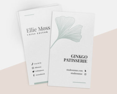 Natural Business Cards 2