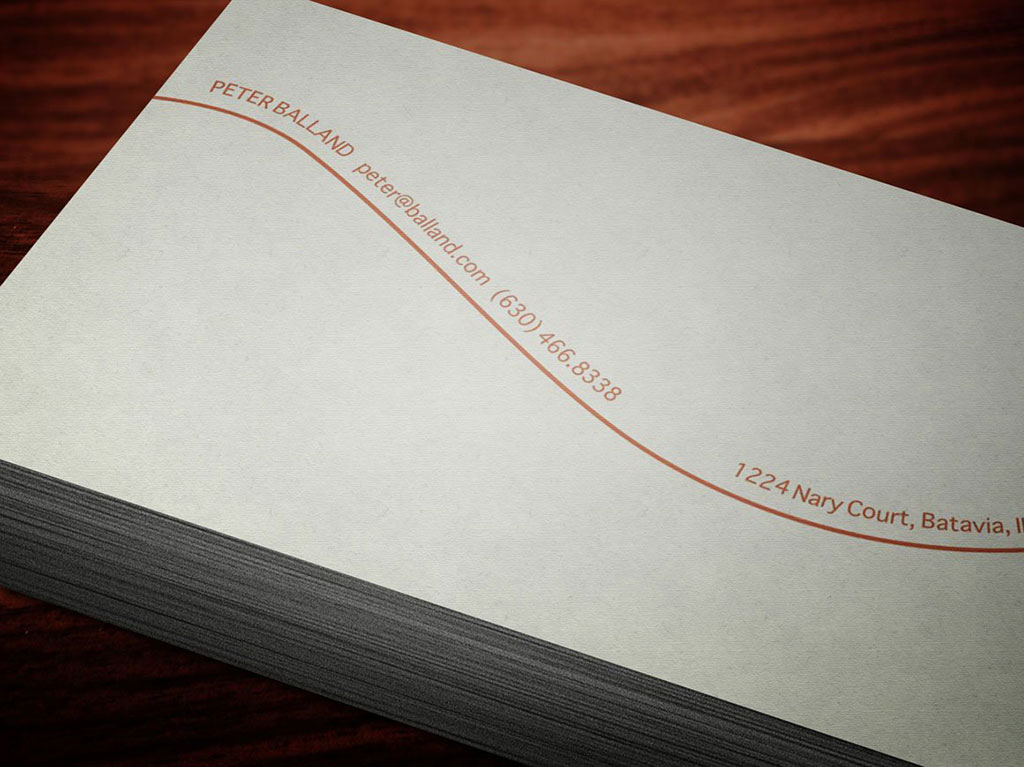 Natural Business Cards 3