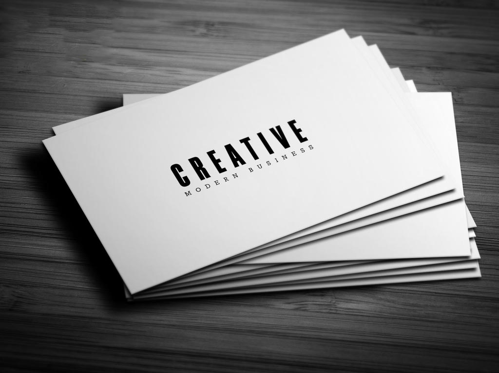 Natural Business Cards 4