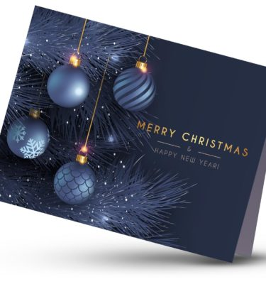 Silk Christmas Cards 1
